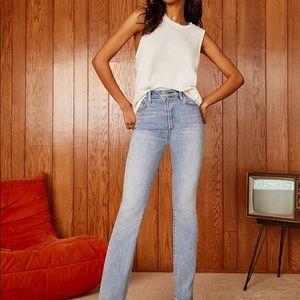 NWT Aritzia Denim forum high rise jeans